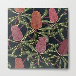 Banksia Bush Metal Print