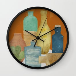 Deconstructed Desert Wall Clock
