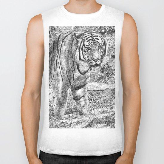 Malayan Tiger (Harimau) Biker Tank