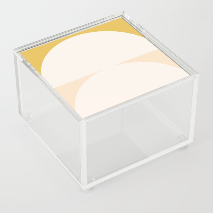 Abstract Geometric 01 Acrylic Box