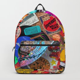 Super Retro Roller Skate Night Backpack