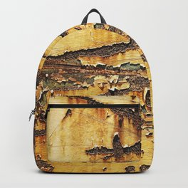 Rusted Metal rustic decor Backpack
