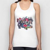 kingdom hearts Tank Tops featuring Kingdom Hearts by Jaimie Hutton