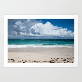 Caribbean Sand Art Print