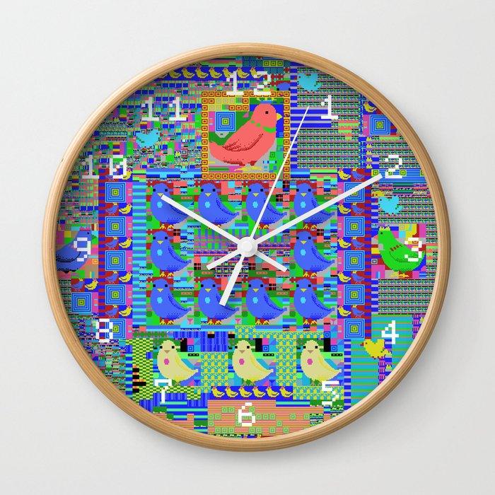 MSX Bird Wall Clock