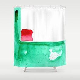 little box Shower Curtain
