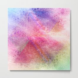 Prismatic Spectrum Metal Print