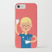 scrubs iPhone & iPod Cases featuring Surgery with a Smile by Mouki K. Butt