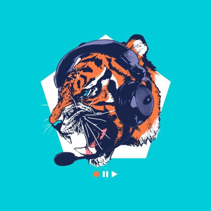 DJ Wildcats Duvet Cover