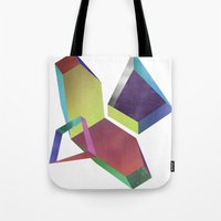 saturn Tote Bags featuring saturn by sofia de eça