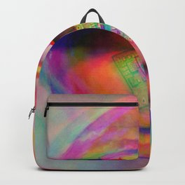 Trippy Art Backpack