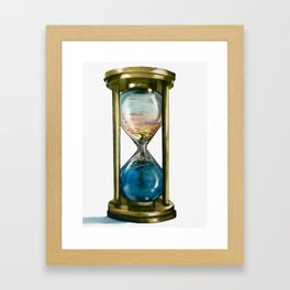 Passing Time Framed Art Print