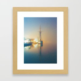 Harbourfront, Toronto, Canada Framed Art Print