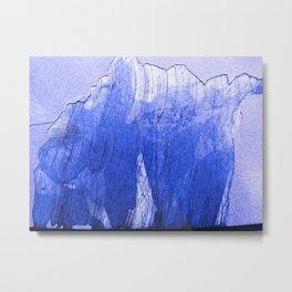 Urban Abstract 120 Metal Print