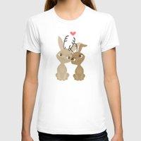 jackalope T-shirts featuring Jackalope Love by Sara Showalter
