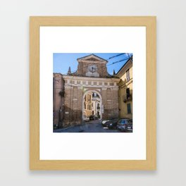 Porta Pescara, New Arch Framed Art Print
