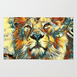 AnimalArt_Lion_20170607_by_JAMColorsSpecial Rug