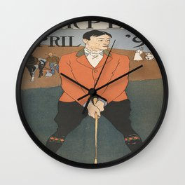 The Links Wall Clock