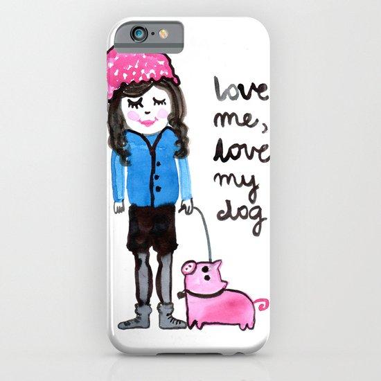 love me iPhone & iPod Case
