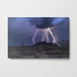 The Magic of the Monsoon Metal Print
