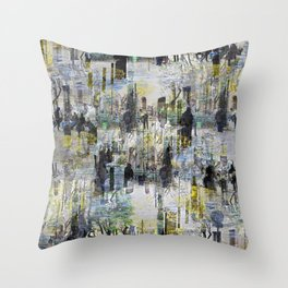 Lumps all the insults properly sorted over houses. Throw Pillow