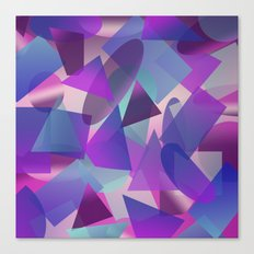 Abstract cube II Canvas Print