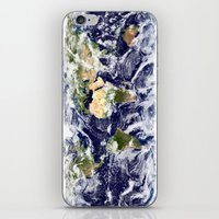 planet iPhone & iPod Skins featuring PLANET by Planet Prints