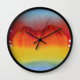 Fata Morgana, Miraggio, Mirage, Miragem Wall Clock