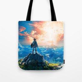 Zelda Breath of the Wild Tote Bag