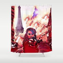 Fire Fight Shower Curtain