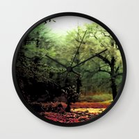 cycle Wall Clocks featuring cycle by Nev3r