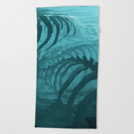 They can smell your fear Beach Towel
