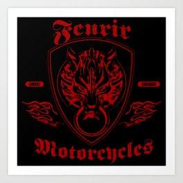 Fenrir Motorcycles Art Print