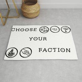 Divergent - Choose your faction Rug