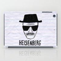 heisenberg iPad Cases featuring HeisenBerg by IIIIHiveIIII