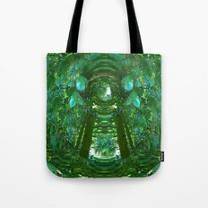 Abstract Gazebo Tote Bag