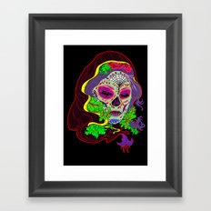 Darlin' Of The Dead Framed Art Print