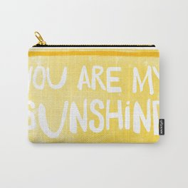 My Sunshine Love Carry-All Pouch