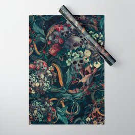 Skulls and Snakes Wrapping Paper