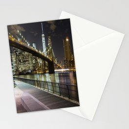 Brooklyn Bridge -  Timelapse Stationery Cards