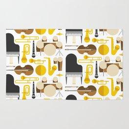 Jazz instruments Rug