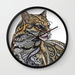 Ocelot Wall Clock