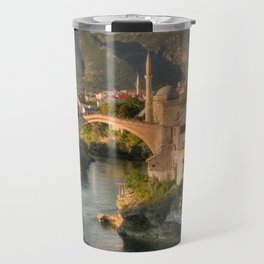 The Old Bridge of Mostar Travel Mug