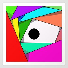 The Eyeball Art Print