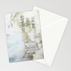 Blend In and Disappear  Stationery Cards