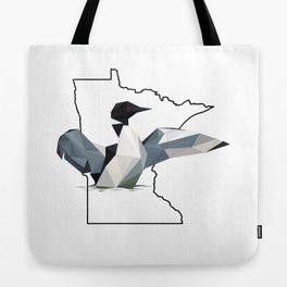 Minnesota – Common Loon Tote Bag