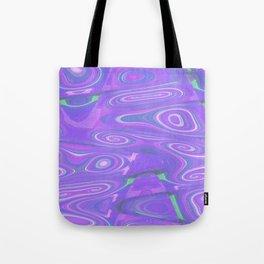 Digital Marble Painting Tote Bag