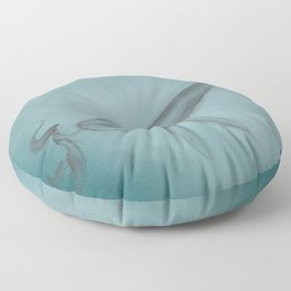 Whale and Mermaid Floor Pillow
