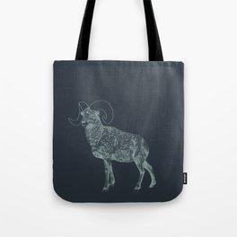 Blue Ram Tote Bag