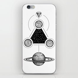 Misterium Saturnia iPhone Skin